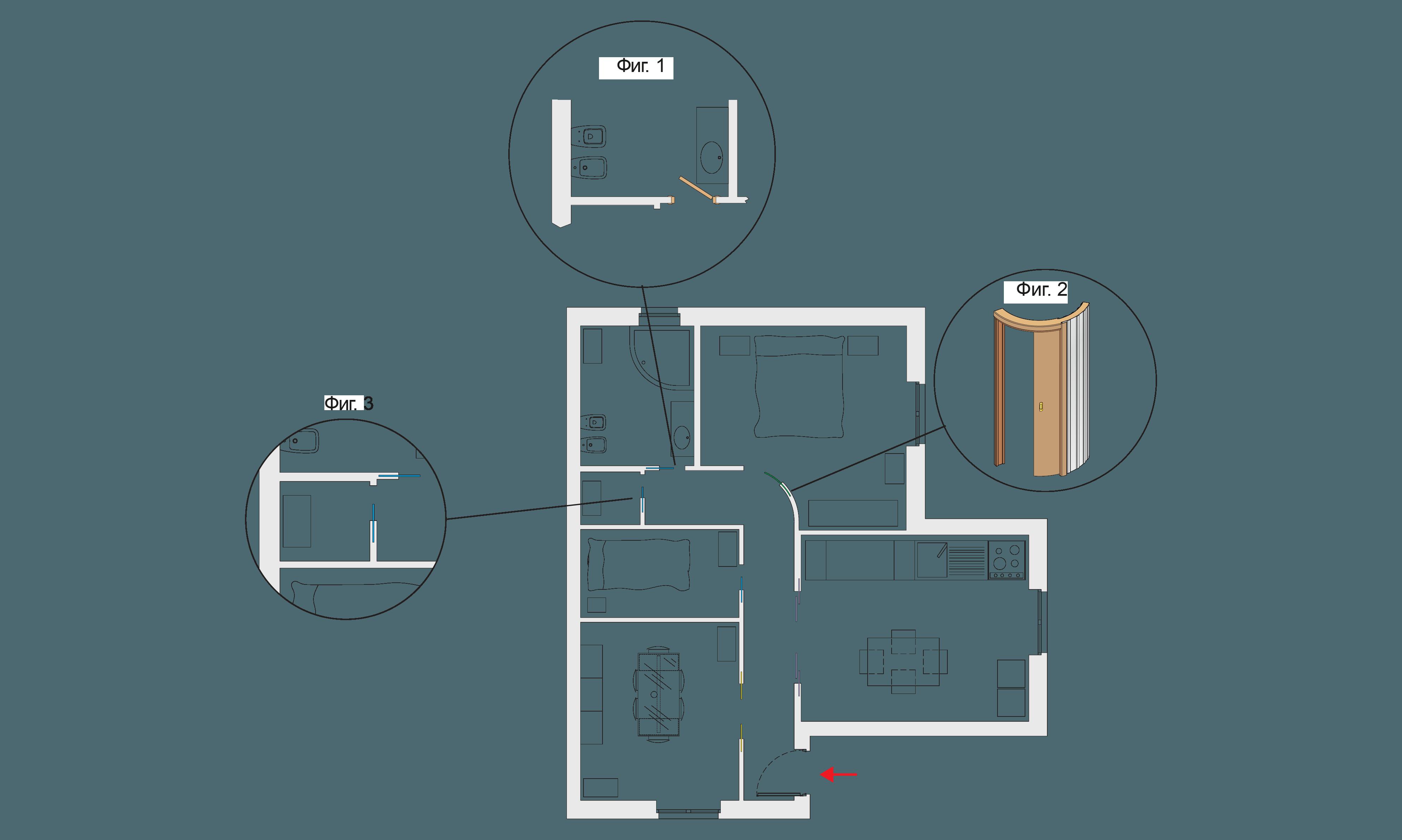 Space door schema